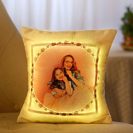Personalized Cool Yellow LED Cushion: Buy Cushions