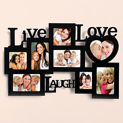 Personalized Live Love Laugh Frames: Gifts Delivery In Aslali