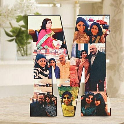 Personalized M Table Top: Gifts to Satna