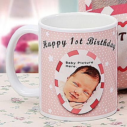 Personalized Memories Mug: 1st Birthday Gifts