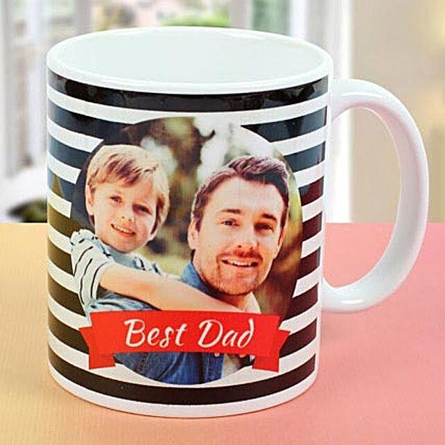 Personalized Mug For Dad: Custom Photo Coffee Mugs