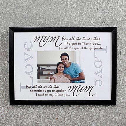 Personalized Photo Frame for Mom: Personalised Photo Frames Gifts