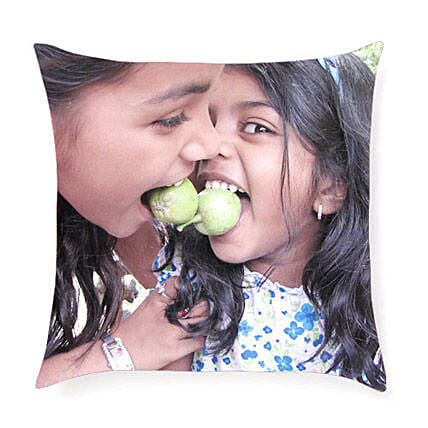 Personalized Print Cushion: Good Luck Gifts