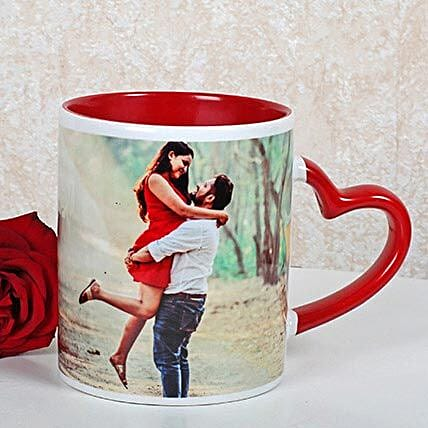 Personalized Red Ceramic Mug: Personalised Mugs