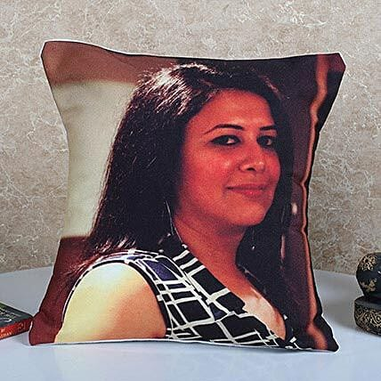 Personalized Vibrant Cushion: Personalised Cushions for Friendship Day