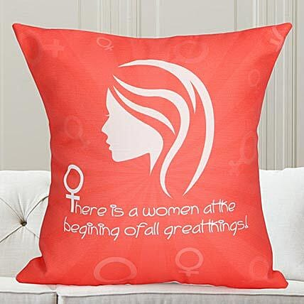 Praise Woman Cushion: