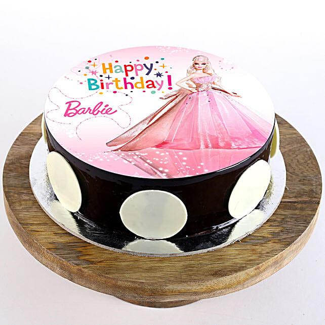 Princess Barbie Cake: