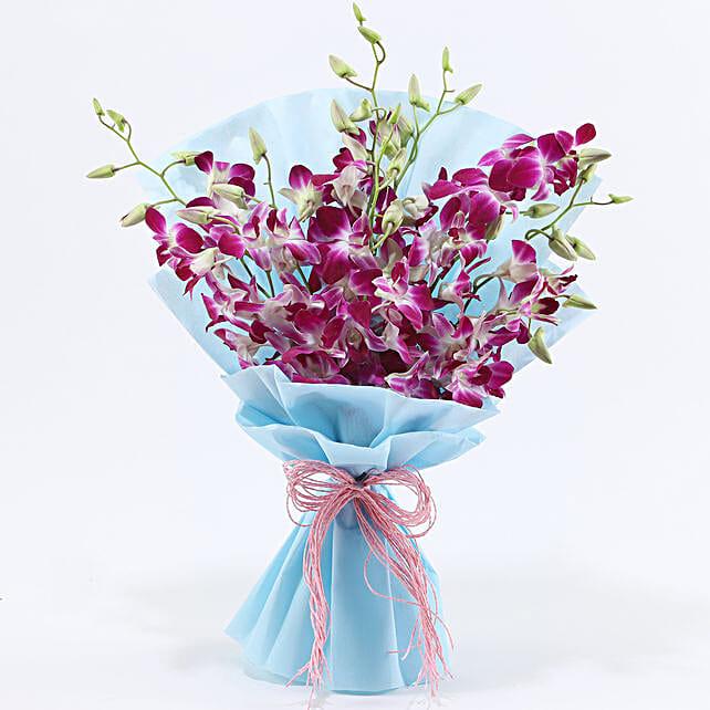 Purple Orchids: Purple Flowers