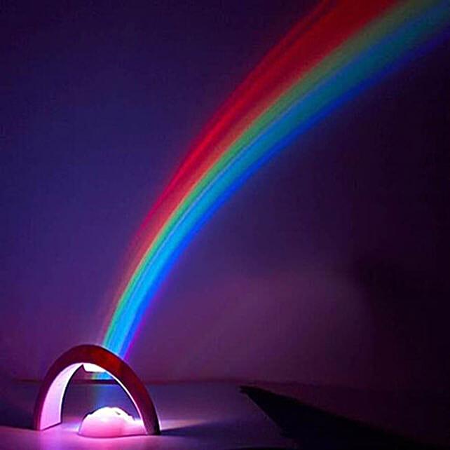 Rainbow Projector Night Lamp: Unusual Gifts