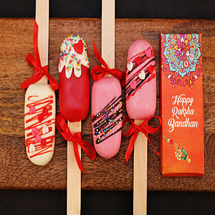 Raksha Bandhan Cakesicles and Chocolate Combo: