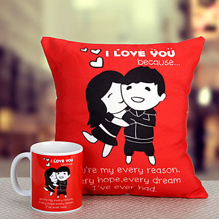 Red Romance: Birthday Mugs