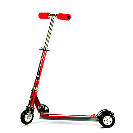 Red Ultra Durable Big Wheel Scooter: Kids Toys & Games