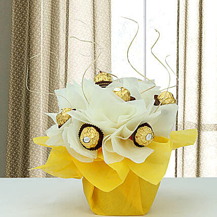 Rocher Surprise: Chocolate Bouquet
