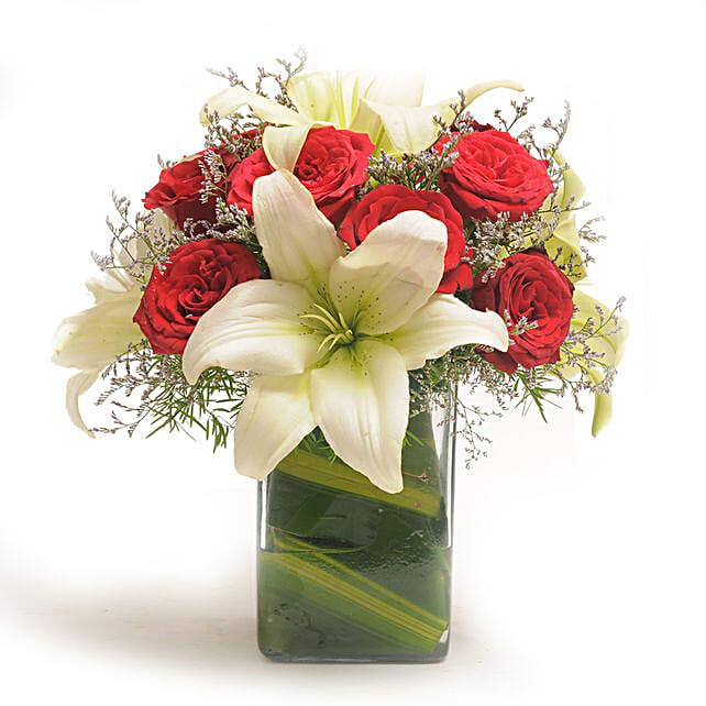 Roses N Lilies: