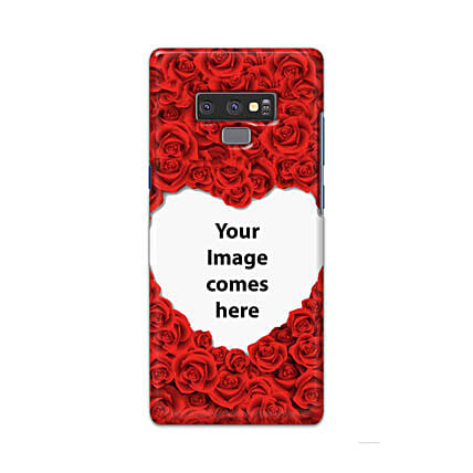 Samsung Galaxy Note 9 Customised Hearty Mobile Case: Personalised Samsung Mobile Covers