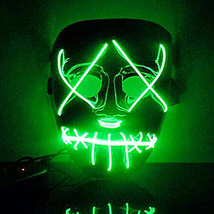 Scary Light Mask: Halloween Gifts