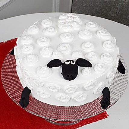 Shaun The Sheep Cake: Send Butterscotch Cakes