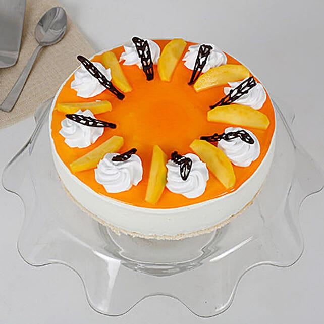 Smooth Mango Cream Cake: Send Mango Cakes
