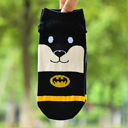 Snoopy Batman Ankle Length Socks: Apparel Gifts