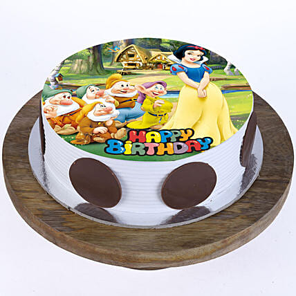 Snow White Cake Cartoon Cakes