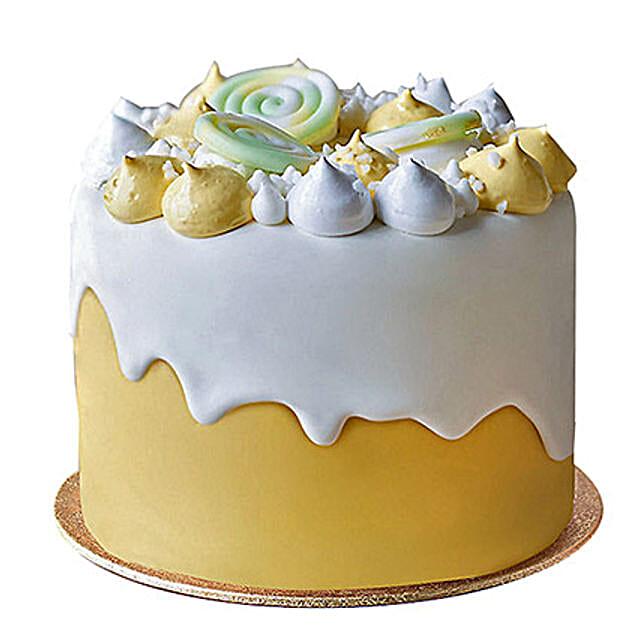 Soothing Fondant Cake: Send Designer Cakes