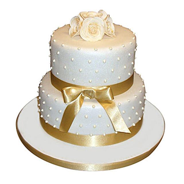 Special 2 Tier Anniversary Cake: Designer Cakes