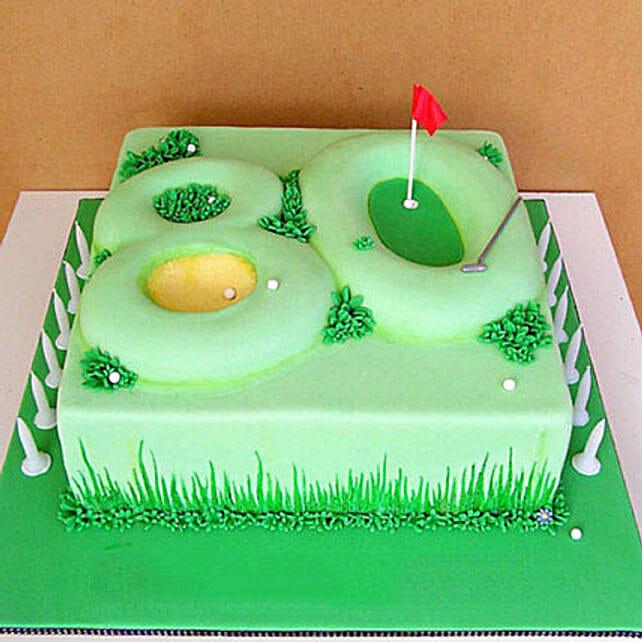 Special Celebration Fondant Cake: