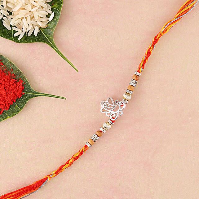 Spiritual Ganesha Rakhi: Devotional Rakhi