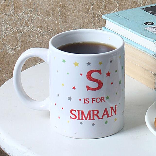 Starry Personalised Ceramic Mug: Custom Photo Coffee Mugs