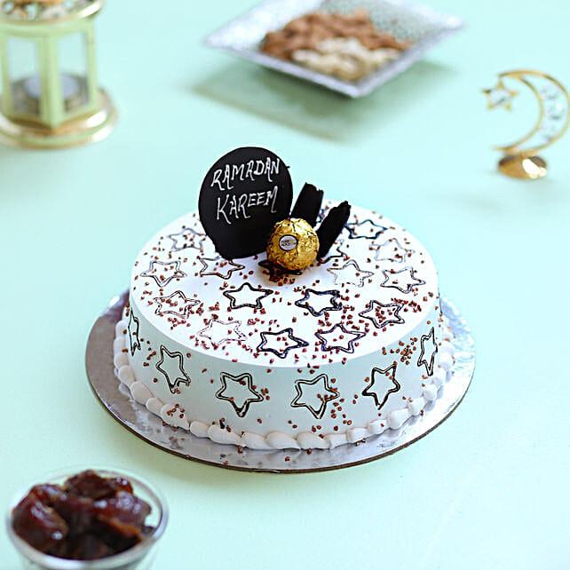Starry Ramadan Cake: Send Eid Gifts