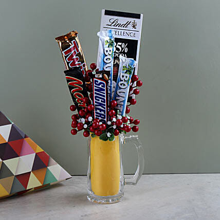 Sugary Treats: Chocolate Bouquet