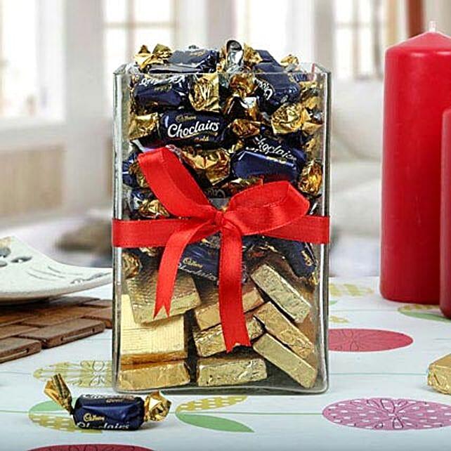 Sweet Chocolate Vase: Diwali Chocolates
