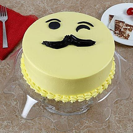 Tasty Cream Cake for Fathers Day: Eggless Cakes for Fathers Day