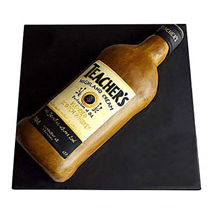Teachers Scotch Whisky Cake: Send Designer Cakes