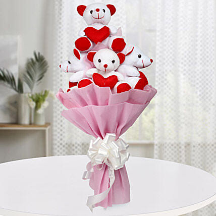 Teddy Bouquet: Soft Toys Gifts