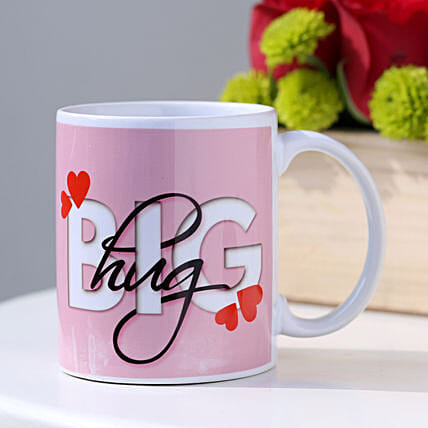 The Big Hug Coffee Mug: Hug Day Gifts