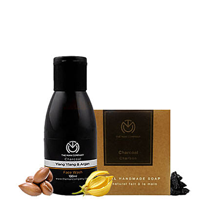 The Man Company Charcoal Charcoal Refresher: Cosmetics & Spa Hampers