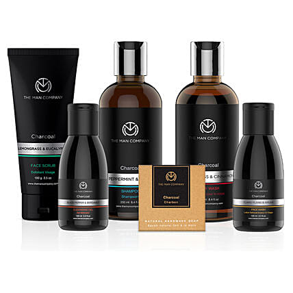 The Man Company Charcoal Gang: Premium & Exclusive Gift Collection