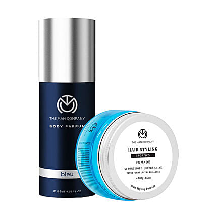 The Man Company Gym Ready Duo: Cosmetics & Spa Hampers