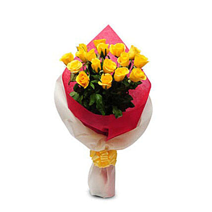 Thinking of You: Yellow Flowers