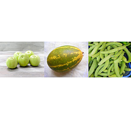 Tinda South Cucumber & Kakri Seeds Combo: Vegetable Plant-seeds