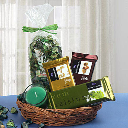Traditional Basket Treat: Chocolate Combos