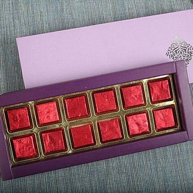 Assorted Butterscotch Chocolates: Handmade Chocolates