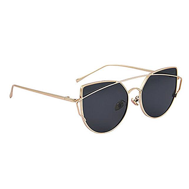 Black Round Unisex Sunglasses: Fashion Accessories