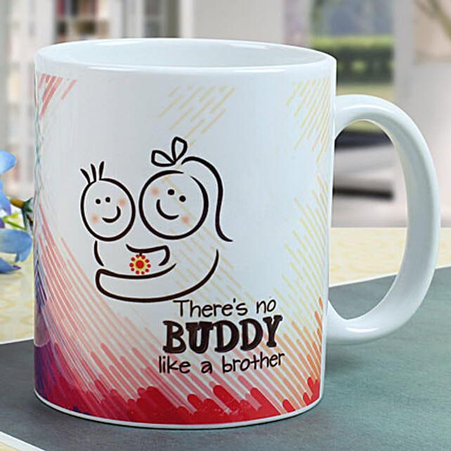 Buddy Brother Mug: Rakhi for Brother