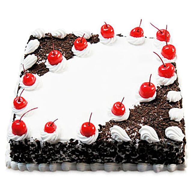 Cherry Blackforest Cake: Send Black Forest Cakes