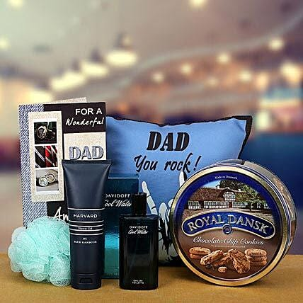 Dad You Rock: Send Fathers Day Gift Hampers