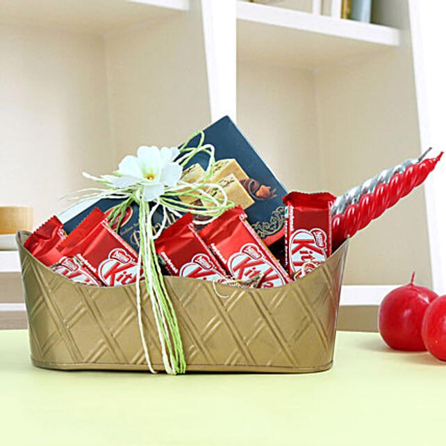 Diwali Sweetness Tray: Send Gift Hampers for Kids