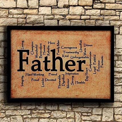 Father Frame For Dad: Send Gifts to Unjha