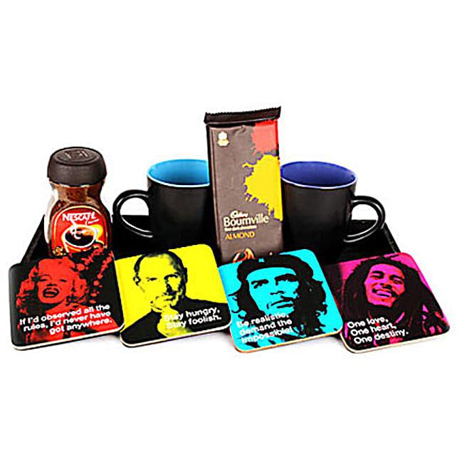 Fun tastic Four Hamper: Coasters Gifts